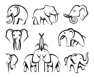 Elephants set