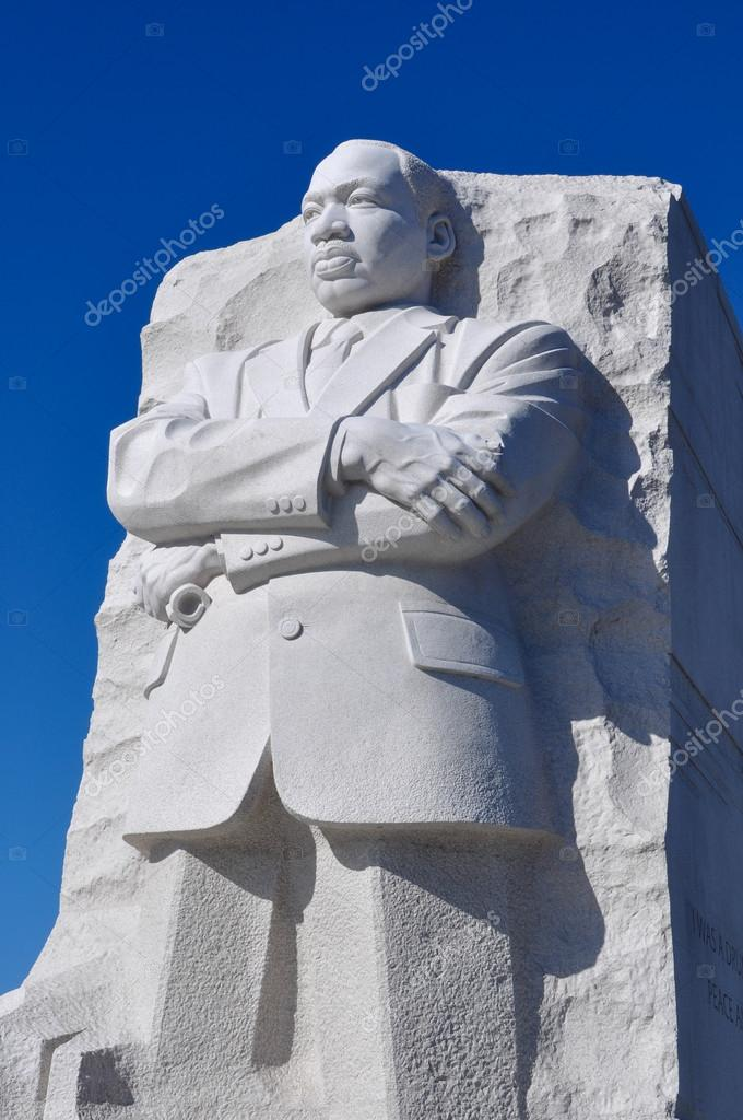 Martin Luther King Statue In Washington Dc Stock Editorial Photo