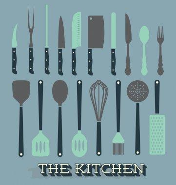 Vector Set: Kitchen Supplies