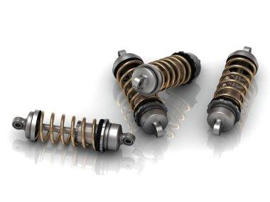 4 automotive shock absorber
