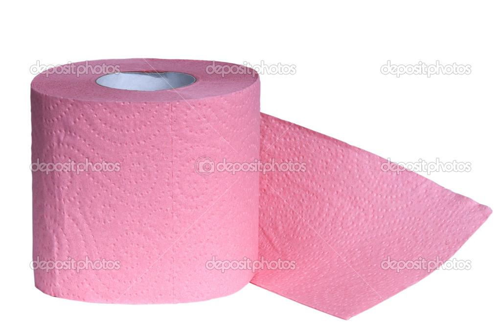 Papier Toilette Rose Photographie Andglb 14051753