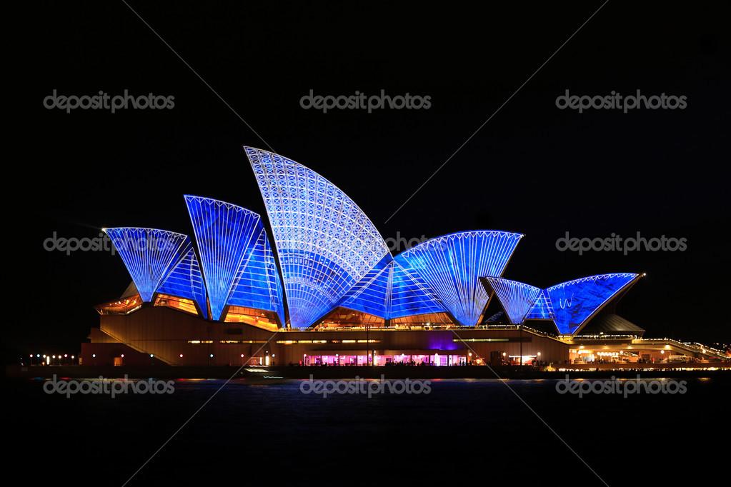 opera-de-sydney-de-nuit - Photo