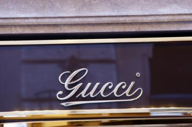 Gucci luxury shop