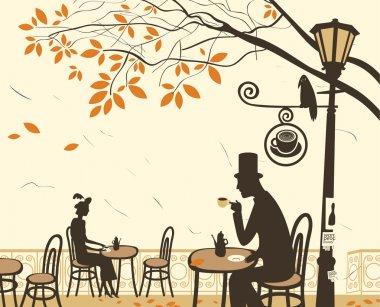 Autumn cafes