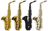 Fotografie Saxophones