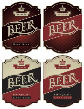Labels for beer