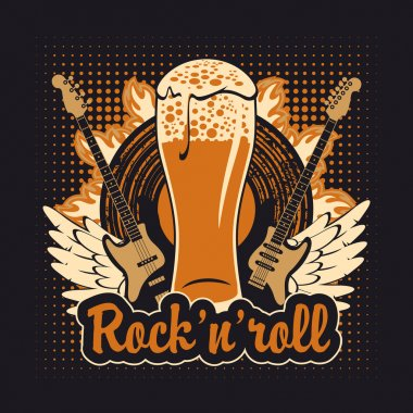 Rock and roll beer