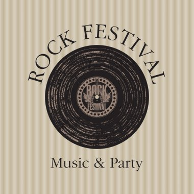 Rock music party