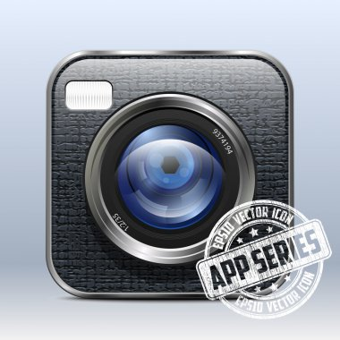 Photo Camera Icon. App Series