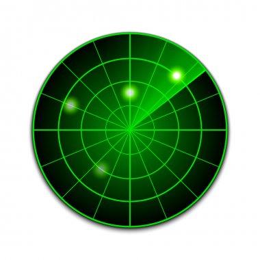 Vector radar icon