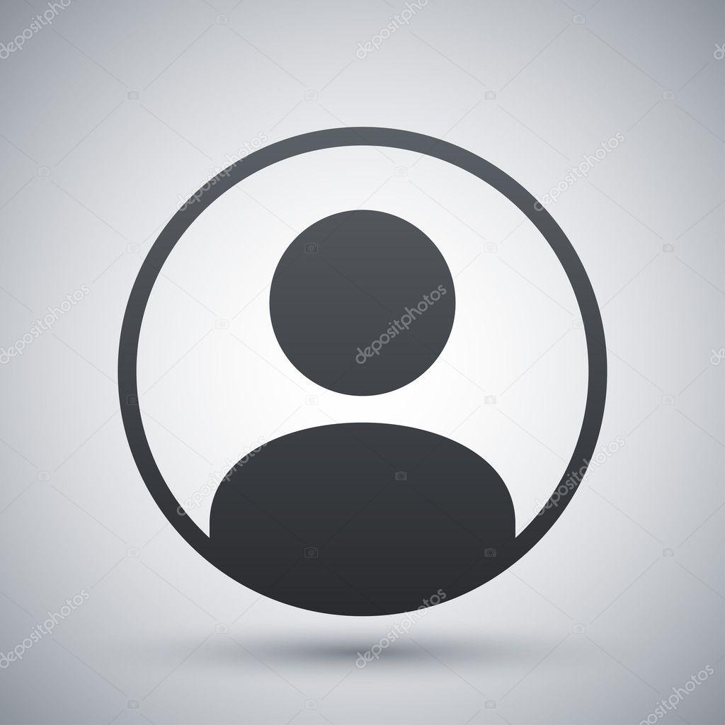 Vector user icon