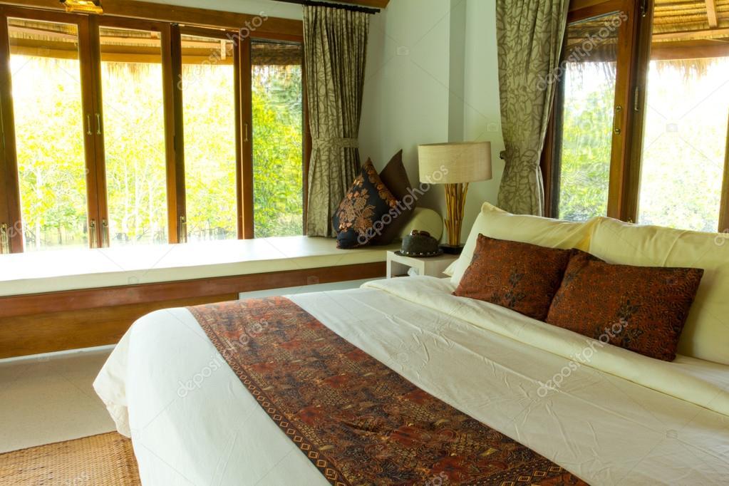 Camere Da Letto Con Letto A Baldacchino : Rurale stile camera da letto con letto a baldacchino con vista mare