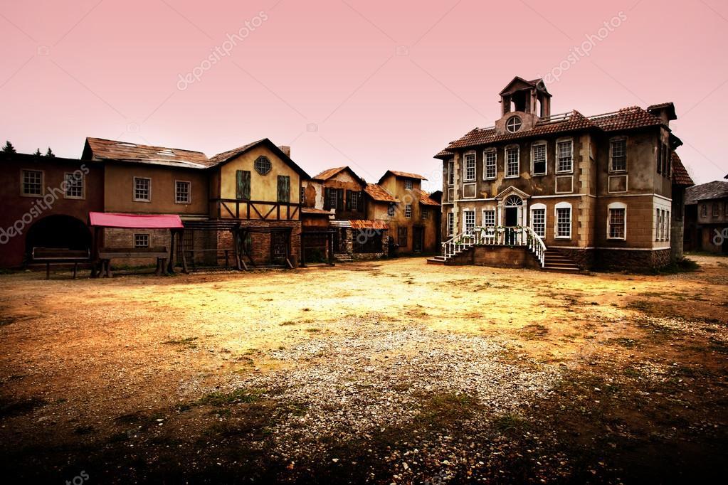 Фотообои ghost town