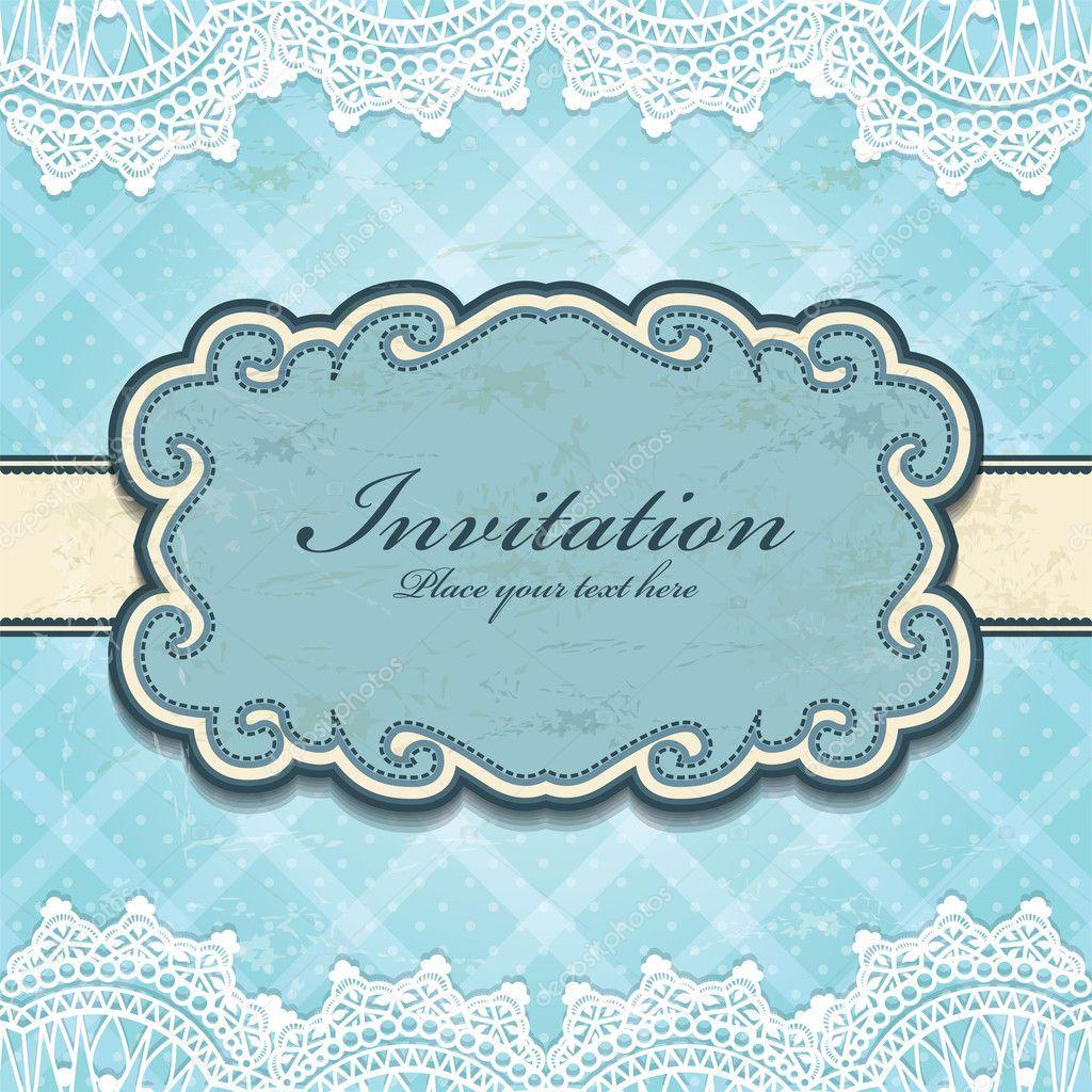 Vintage frame invitation template stock vector donnay 24954159 vintage frame invitation template stock vector 24954159 stopboris Images