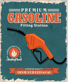 Fotografia cartellonistica depoca benzina