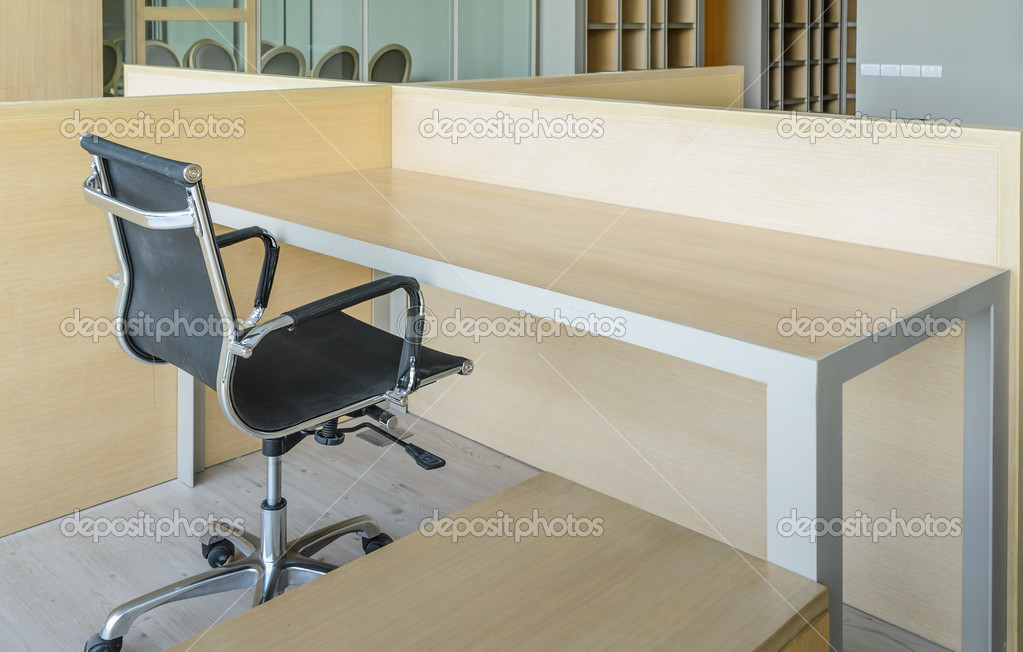 Chambre simple de bureau u photographie boonsom