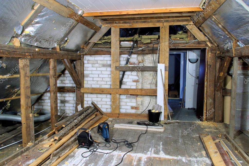 Dachstuhl - Dachstuhl ausbauen ...