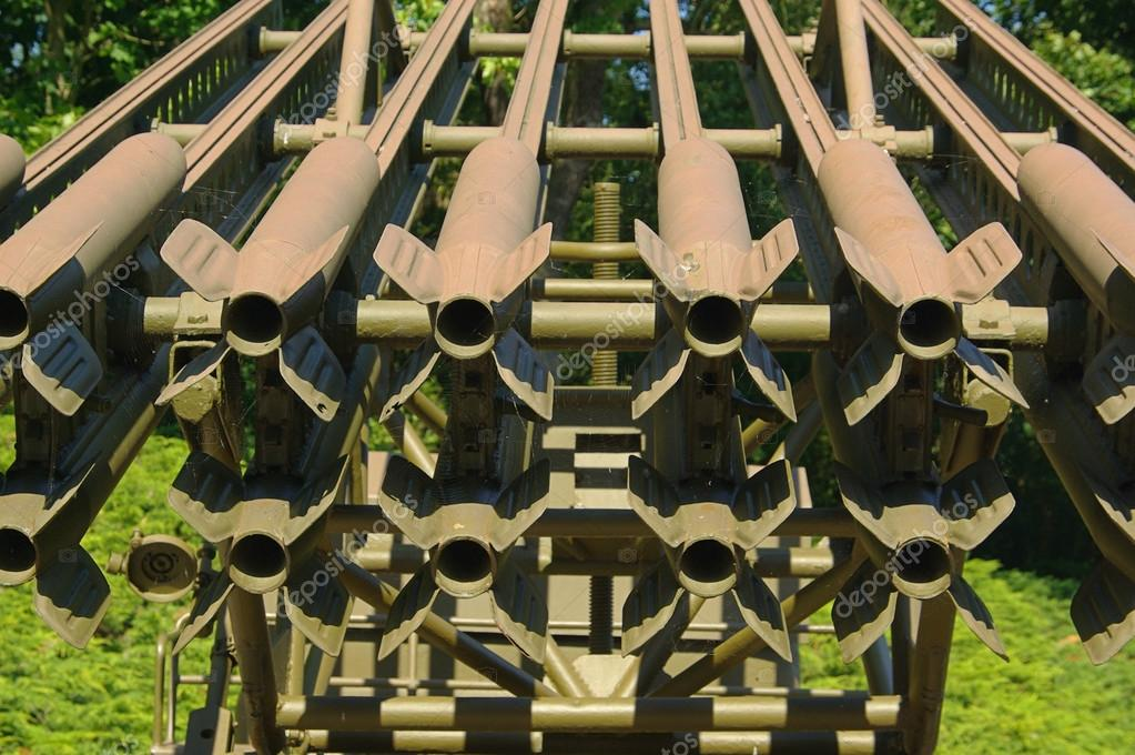 Katyusha rocket launcher — Stock Photo © Kassandra2 #35955983