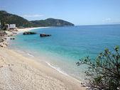 Fotografie Drymades beach, Dhermi village, Albanian riviera