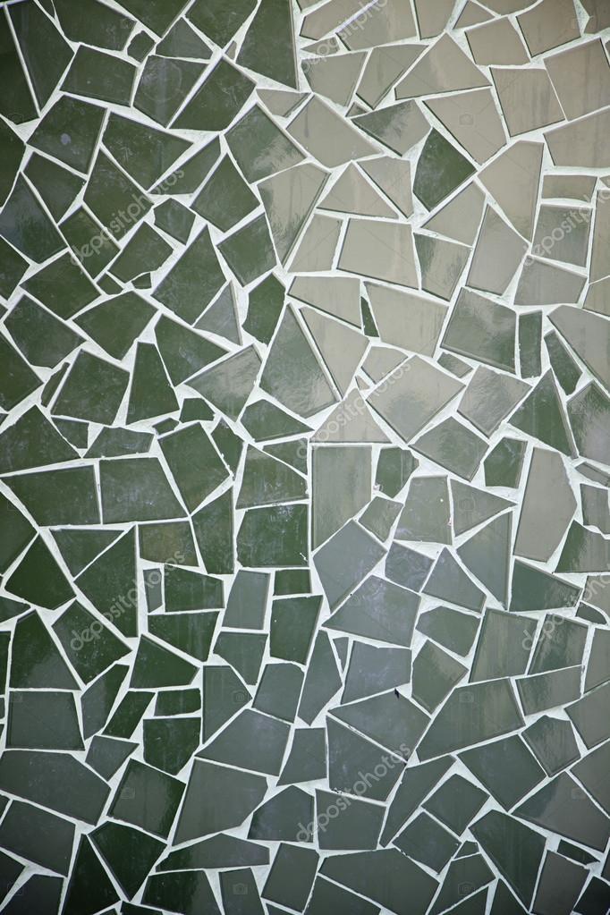 Mosaikfliesen grün  Mosaikfliesen grün — Stockfoto © esebene-photo #25379643
