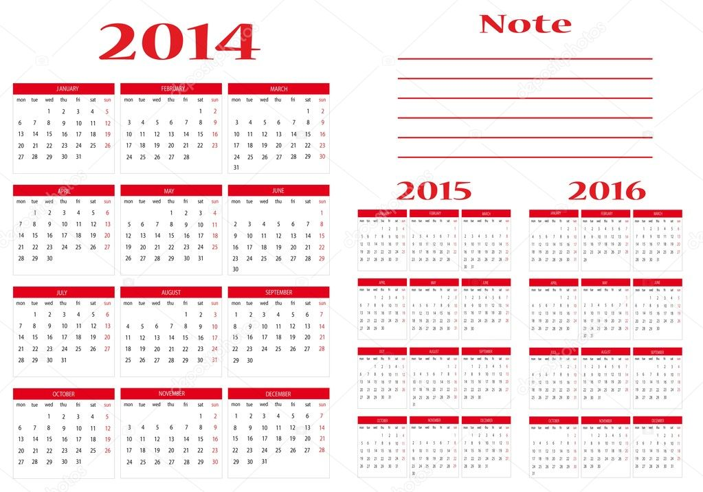 2014 2015 Academic Calendar Template. 2014 2015 academic calendar ...
