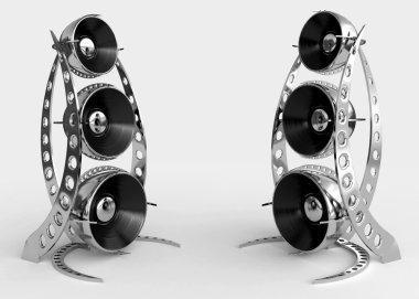 Futuristic speakers
