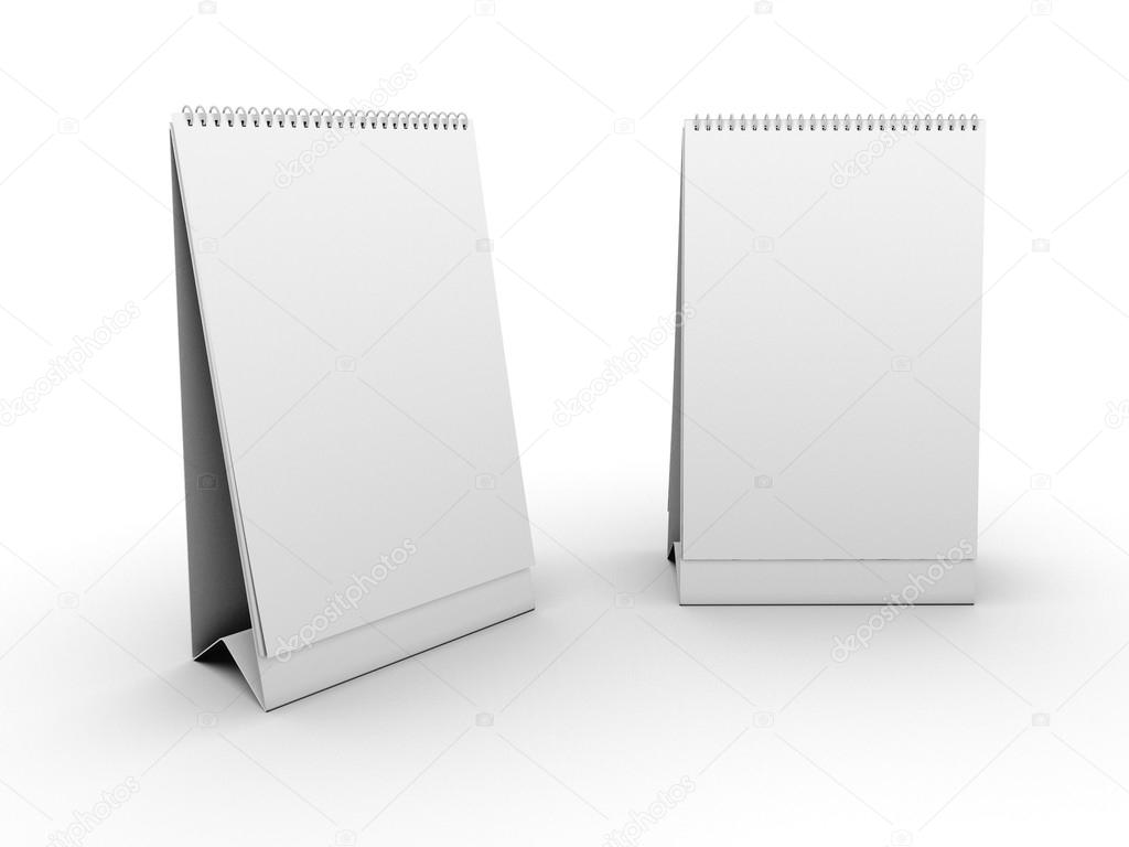 Empty Table Calendar Template Stock Photo C Chernetskiy 13741139