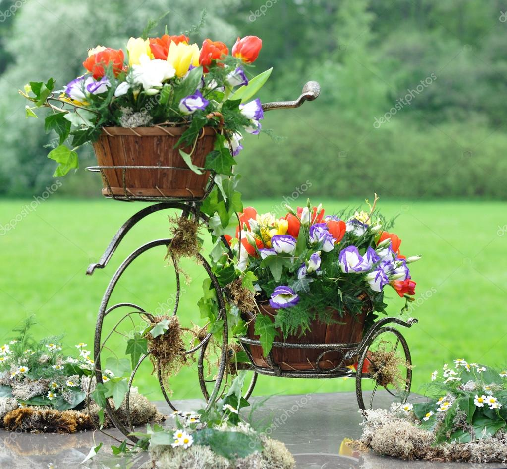 Vintage garden bicycle