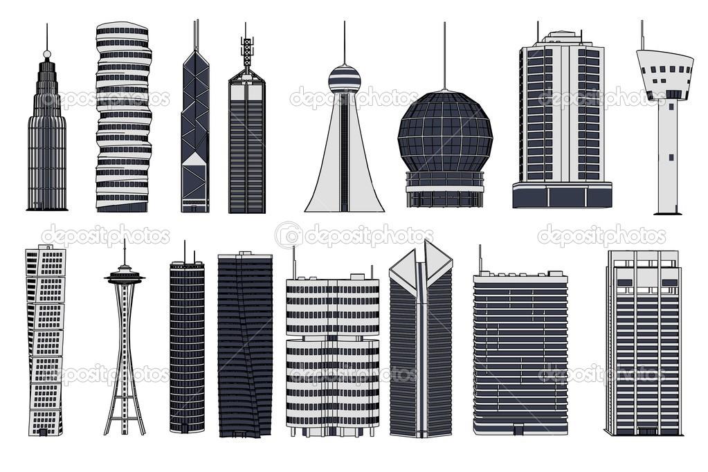 Imagenes De Edificios En Caricaturas
