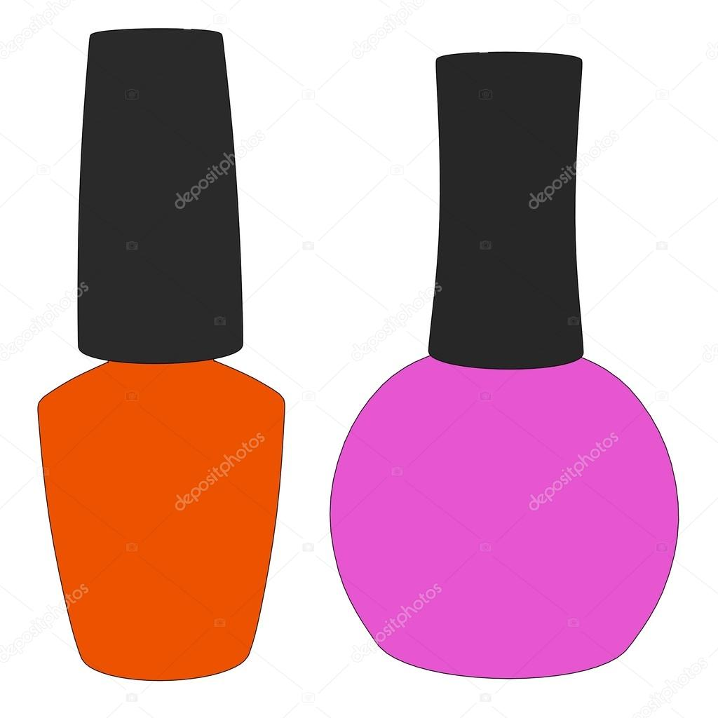 Caricatura de esmalte de uñas — Fotos de Stock © 3drenderings #43219901