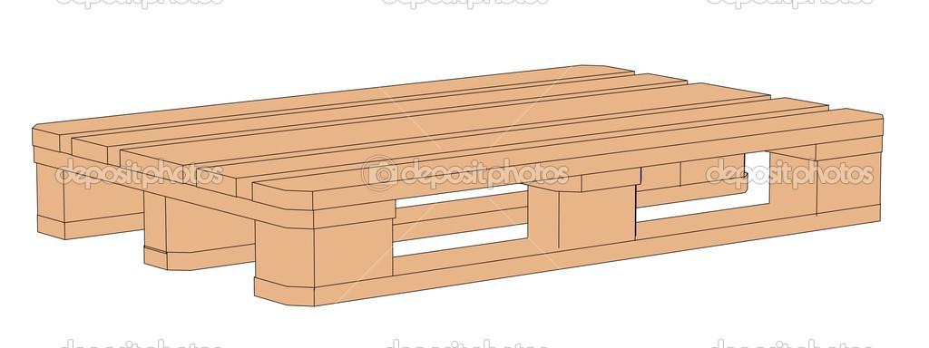 Image de dessin anim de palette en bois photographie - Palette a dessin ...