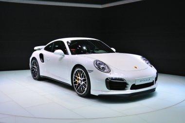 FRANKFURT - SEPT 14: Porsche 911 Turbo S presented as world prem