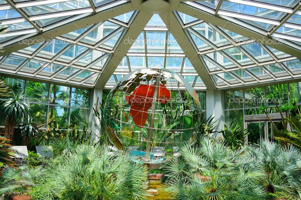 garten frankfurt, a globe (planet maket) in palmen garten, frankfurt am main, hess, Design ideen