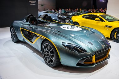 FRANKFURT - SEPT 21: ASTON MARTIN CC100 presented as world premi