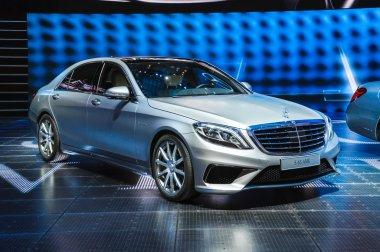 FRANKFURT - SEPT 21: Mercedes-Benz S63 AMG presented as world pr