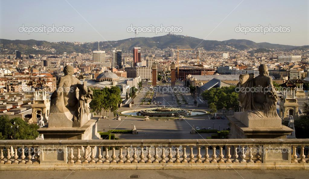 Barcellona piazza di spagna foto stock sedmak 14893177 for Spagna barcellona