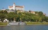 Fotografie hrad v Bratislavě