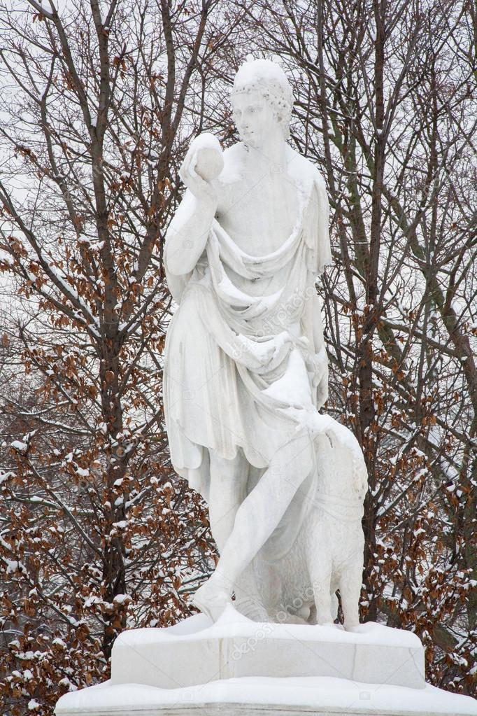 Image result for winter statues