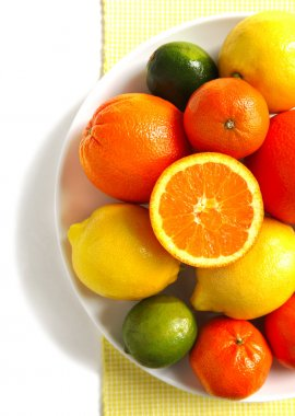 Fresh citrus fruit