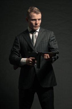 Mafia man.