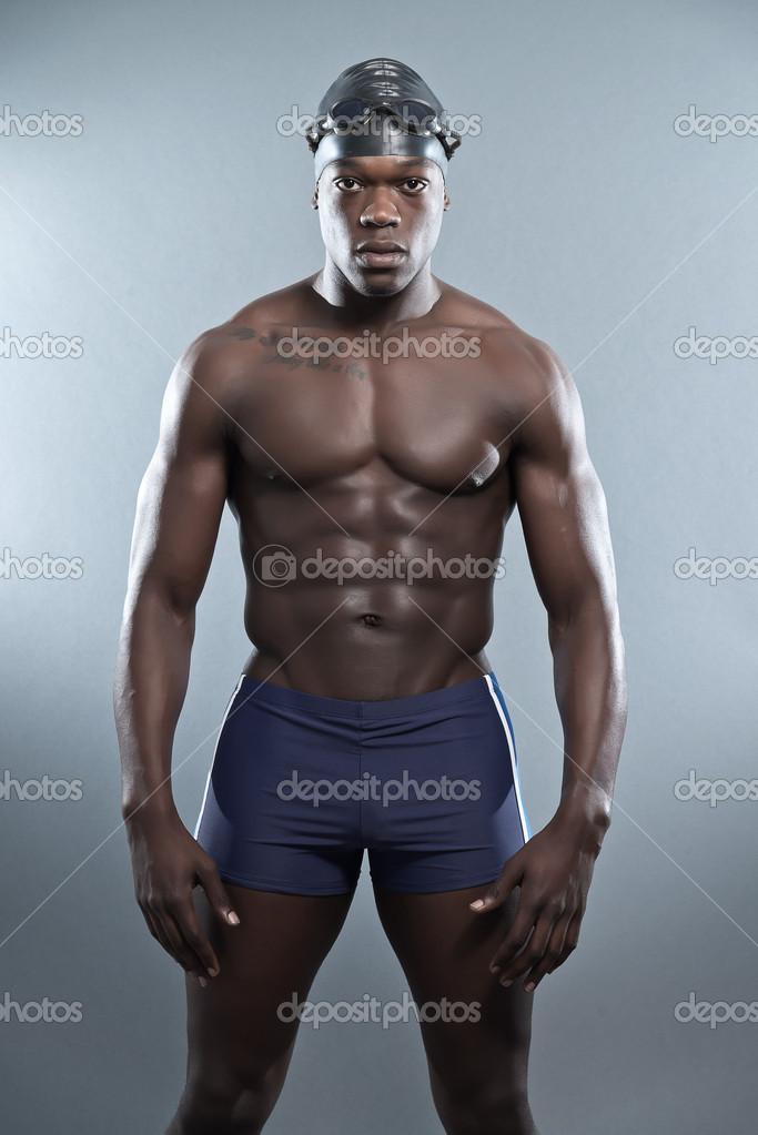 negro africano musculoso gay