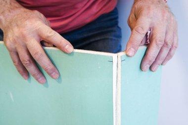 Sheetrock, plasterboard, wallboard or gypsum board