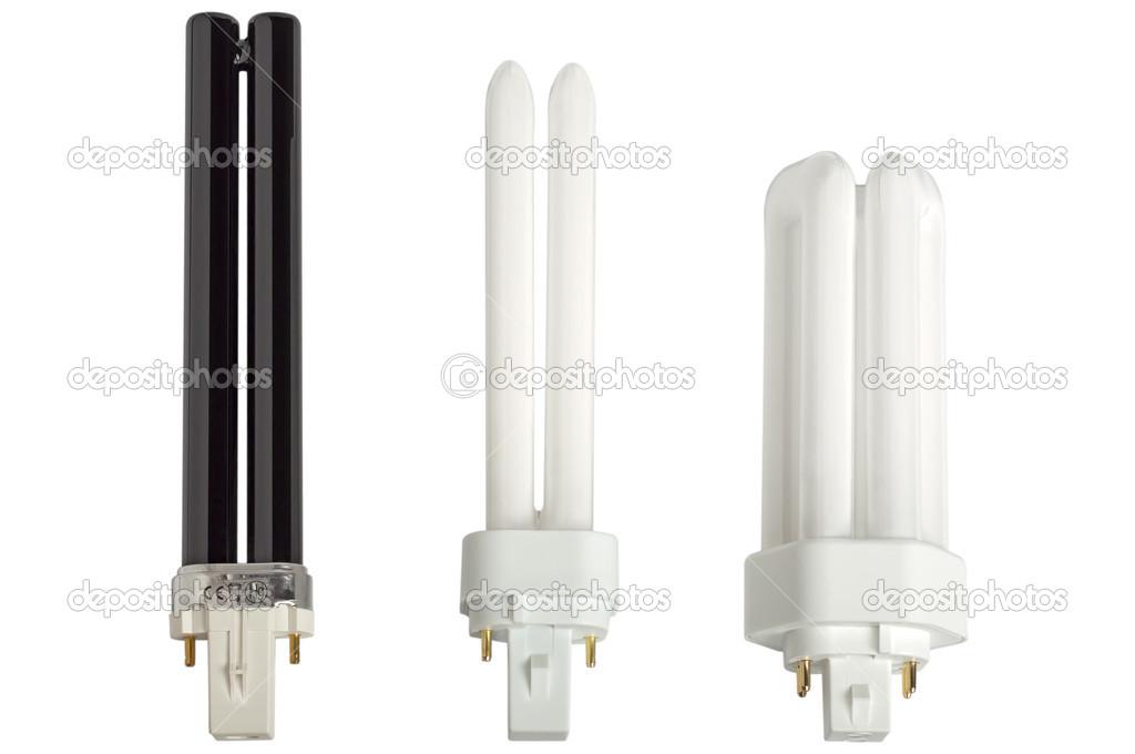 Lampade fluorescenti compatte u foto stock strannik