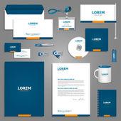 Fotografie Stationery template design