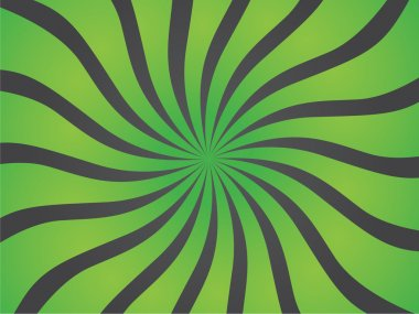 Vector background, circus waves