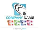 Společnost (obchodní) Logo Design, vektor
