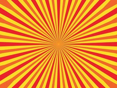 Vector Circus background, strip into a circle