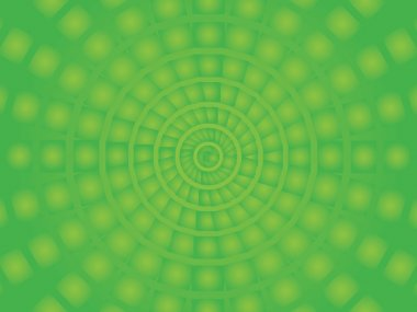 Vector Circus background, square into a circle