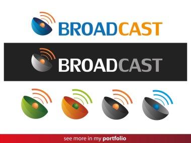 Company Logo Design,Broadcast,Wifi,Signal