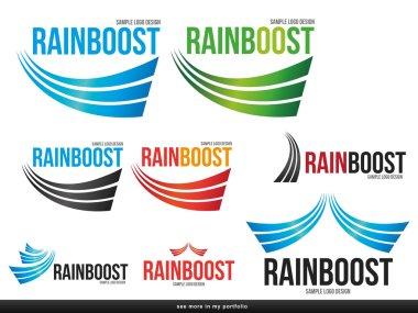 Company (Business) Logo Arcs Design,vector